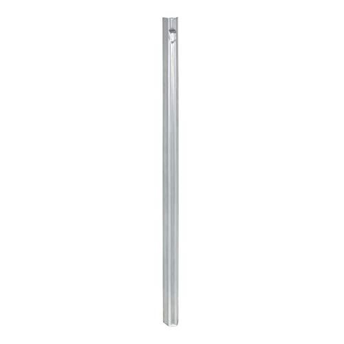 Erdanker/Zaunanker, 50 cm, für Wildzaun, Forstzaun, Knotengelfecht - mit Lasche zur Fixierung des Zauns - verzinkter Stahl mit W-Profil (50 Stück)