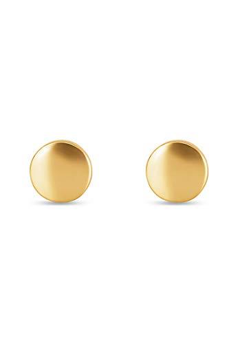 CHRIST Gold Damen-Ohrstecker 375er Gelbgold One Size 87716627