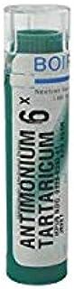 Boiron Antimonium Tartaricum 6X, Green, 80 Count