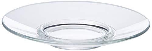 Arcoroc ARC L3697 Voluto Untertasse, Glas, transparent, 6 Stück