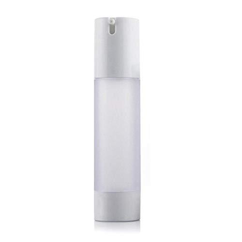 Airless Pumpspender Leer, matte Flasche mit Spender Vakuum Kosmetik Behälter, für Tiegel, Lotion spender, Creme Spender Nachfüllbar (30ml/50ml)