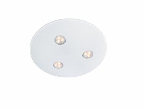 Massive - 320843110 - Bubbles Plafonnier Led - Lampes de Plafond - 3 x 7,5 W - Blanc