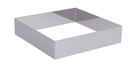 DE BUYER -3906.20 -cercle carre inox f 17 ht 4.5cm - 20cm