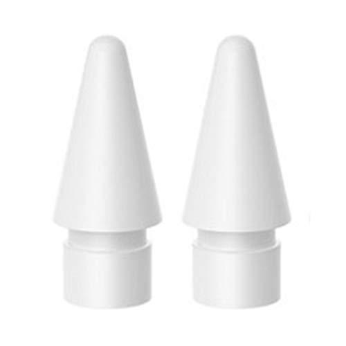 ZBSM 2 Piezas Es Adecuado para Pencil Generation/de Segunda Generación Punta de Repuesto de Lápiz óptico Lápiz óptico de Pantalla Táctil