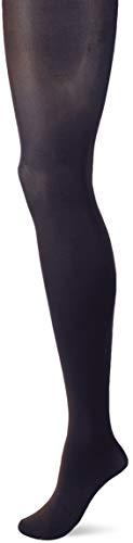 FALKE Damen Strumpfn Seiglatt 40 ier - Strumpfhose Semi-Blickdicht, Blau (Marine 6179), Größe: M