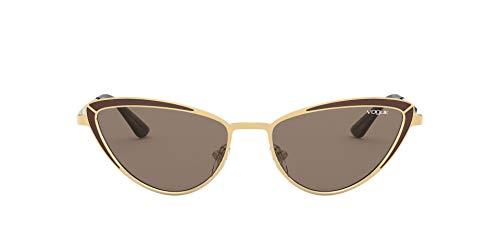 Vogue 0vo4152s Occhiali da sole, (GOLD BROWN/BROWN), 54/17/135