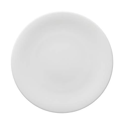 Rosenthal Hutschenreuther - Nora - Speiseteller, Teller flach - Weiß - Porzellan - Ø27 cm