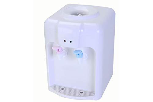 takestop® Dispenser EROGATORE Elettrico Doppio DOSATORE Acqua Calda Fredda con TANICA BOCCIONE 2 Litri in PLASTICA 33.8x22x28.5 CM