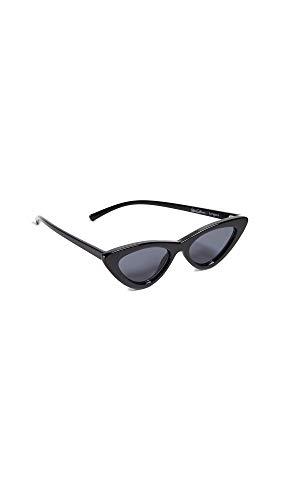 Le Specs Mujeres las últimas gafas de sol de lolita Humo Negro única Talla