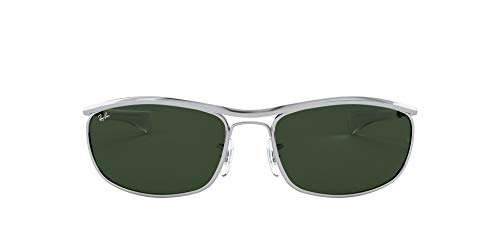 Ray-Ban Unisex Olympian I Deluxe Rb3119m-003/31 Sonnenbrille, Silver, 62