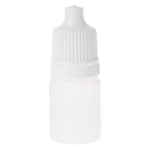 zrshygs 1Pc Reise-Make-up Unterflasche Leere Plastikquetschtropfflasche Flasche Augentropfen Flasche Augentropfen Flasche Tropfen Flasche Container 5ml