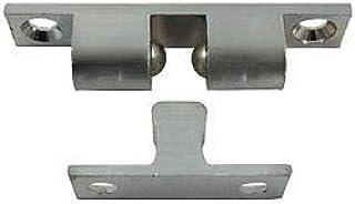 Pack of 1 1//2 Prime-Line Slide-Co 193035 Shower Door Friction Catch 1//2 White Plastic W//Fastener