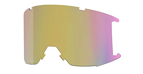 Smith Squad Replacement Goggle Lens (ChromaPop Storm Yellow Flash, One Size)