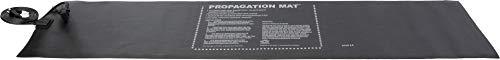 Dirt Genius 19007, 60 W, 12 x 48 Inch, Daisy Chainable UL Listed Propagation Heat Mat, 48x12, Black