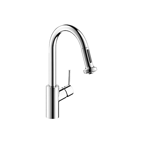 hansgrohe Talis S² Premium Kitchen Faucet 1-Handle 15-inch Tall Pull Down Sprayer Magnetic Docking...