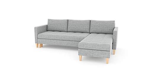 Sofini Ecksofa Oslo mit Schlaffunktion! Best Ecksofa! Couch mit Bettkästen! (Lux 32 Rechts)