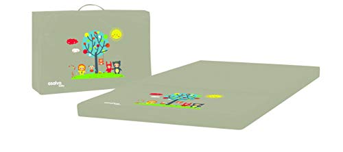 Matelas 3 parties pour lit parapluie Baby Fox collection 'Fun' - Beige