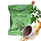 Ginseng Coffee Pack - 50 Capsules Suitable to Lavazza* Espresso Point Suitable'Italian Coffee - Bocca della Verità'