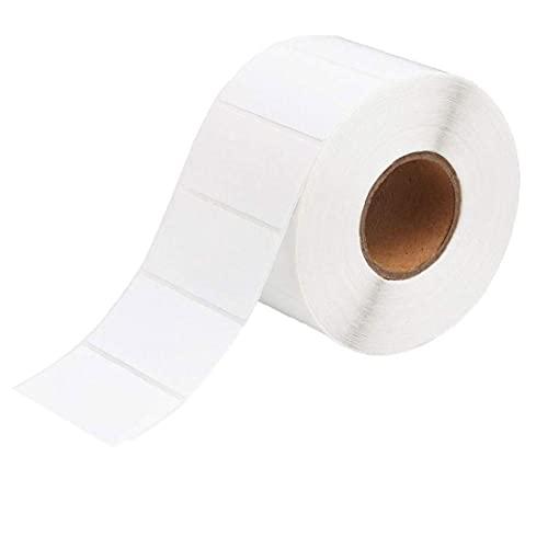 WFIT Impresión De La Etiqueta En Blanco Planchas De Calcomanías Auto-Adhesivo De Etiquetas Adhesivas Rollo Multifuncional para Oficina Cocina Jam Blanca