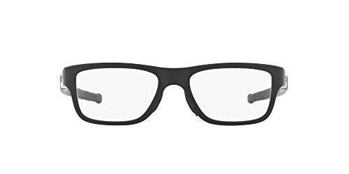 Oakley 8091 809101, Monturas de Gafas para Hombre, Satin Black, 53