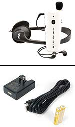 MYHEARGEAR Holiday Special! POCKETALKER 2.0, Free Recharge Battery KIT($51.00 Value) and (4) Rechargeable Batteries