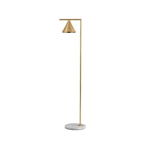 AJZGFLampadaire classique Lampadaire décoratif en marbre lampe créative salon chambre lampe de plancher Éclairage intérieur