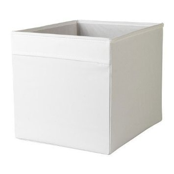 IKEA DRÖNA - Lote de 10 compartimentos para estanterías Expedit, Besta, etc. (33 x 38 x 33 cm), color blanco