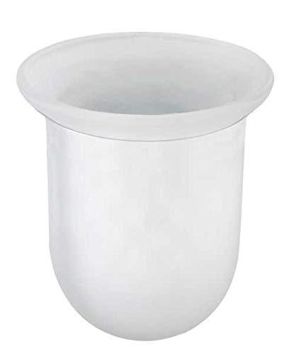 WENKO WC-Bürstenbehälter Glas Toilettenbürstenhalter Toilette Klobürste