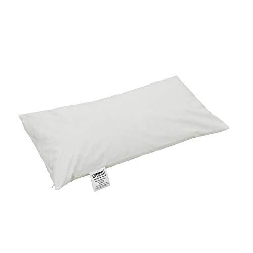 ONVAYA Evolon® Sommer Allergiker Bettwaren | Bettenset in weiß | Bettzeug in verschiedenen Größen | Kissen und Decke (Nackenstützkissen 40 x 80 cm)
