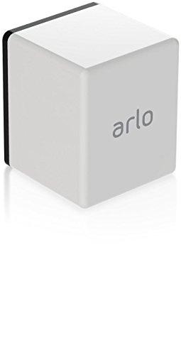 Netgear Arlo Pro VMS4430-100EUS Kit 4 Telecamere WiFi e Base Station con Sirena, Batteria Ricaricabile, Audio a 2 Vie, Interno/Esterno, Visione Notturna