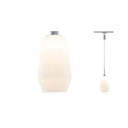 URail Pendulum Remo II max. 1x25W GU10 Chrom matt/Satin 230V Metall/Glas