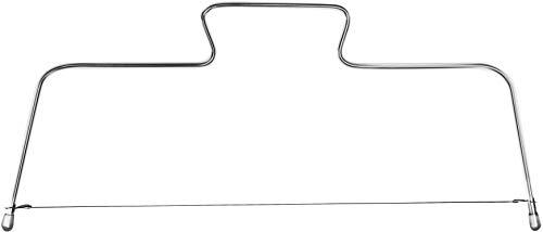 FM Professional Cortador Tartas, Acero Inoxidable, 31X16Cm
