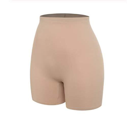 Pantalones contra el frotamiento de seguridad invisible pantalones cortos debajo de la falda de las señoras ropa interior sin costuras ultra delgada de control de las bragas Women