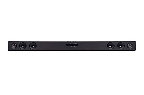 LG SK1D Altavoz soundbar 2.0 Channels 100 W Black Wired & Wireless - Barra de Sonido (2.0 Channels, 100 W, DTS Digital Surround,Dolby Digital, 100 W, 4 Ω, 82 dB)