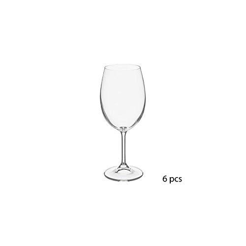 Lot de 6 verres à eau - 45 cl - Tana - Cristallin