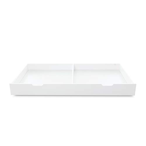 Ickle Bubba Coleby Cot Bed Under Drawer - White