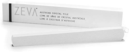 ZEVA Austrian Crystal Nail File - Stops Splitting, Peeling and Cracking, and Removes Excess Cuticle. Made in The USA.