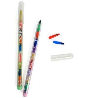 Anniversaire Kermesse - Pack de 12 Crayons Pousse-Mines - Multicolors - Anniversaire Fille