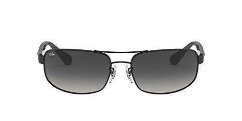 Ray Ban Damen Sonnenbrille RB3445, Gr. 61 mm,, Mattes Schwarz, 61 millimeters