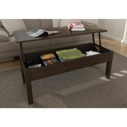 Mainstays Lift-Top Coffee Table, Multiple...