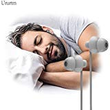 Sleep Soundproof Earbuds Headphones, Noise Isolating Soft Earbuds for Sleeping, Nighttime, Insomnia, Side Sleeper, Snoring, Travel, Meditation & Relaxation (Gray)