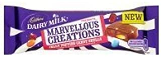 Cadbury Dairy Milk Marvellous Creations Jelly Popping Candy Shells 4x47g by Cadbury