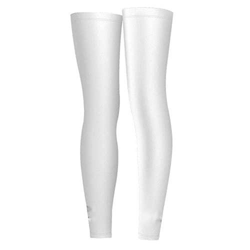 Maniche per gambe di raffreddamento per uomini e donne, protezione solare UV maniche a compressione traspirante raffreddamento gambe coperture per adatto per sport di pallacanestro all'aperto corsa