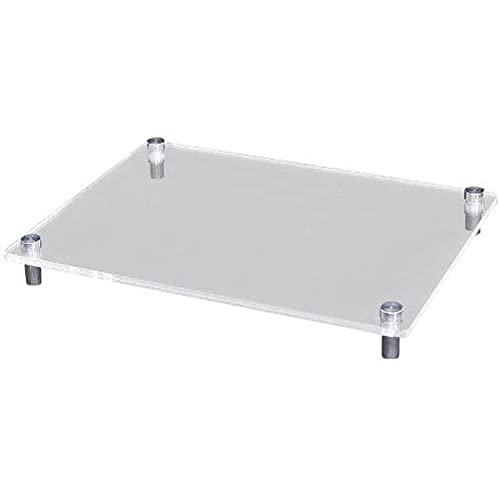 ホビーベース モデルベース Mサイズ アクリルベース/アルミ支柱 W200×D150×厚さ2mm PPC-K41 ディスプレイス...