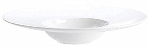 ASA À Table Gourmetteller klein D. 21,8 cm, Porzellan, weiß, 21.8 cm
