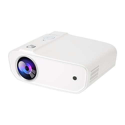 Kudoo Mini Proiettore, Proiettore Portatile VGA per Cartoni Animati, Videoproiettore HD con Telecomando E Potente Ventola di Raffreddamento Proiettore Professionale Adattato TV/Laptop/Telefono(EU)