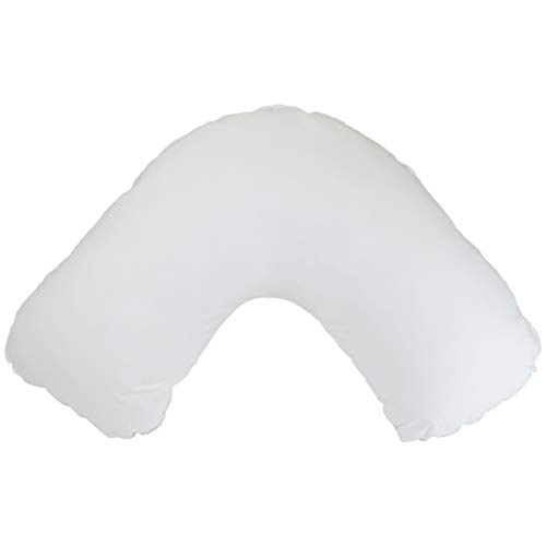 Easy Rest V Shape Pillow, Reading or Maternal Support Pillow, Extra Back Support