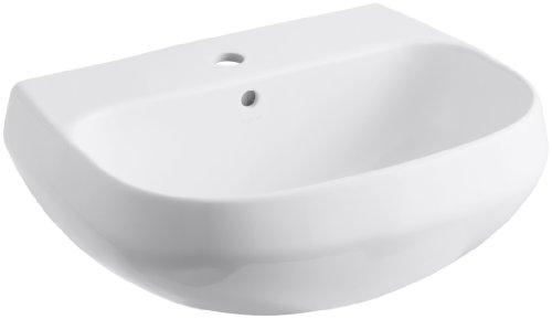 Kohler Wellworth Waschtisch mit Einlochhahn Bohren, K-2296-1-0