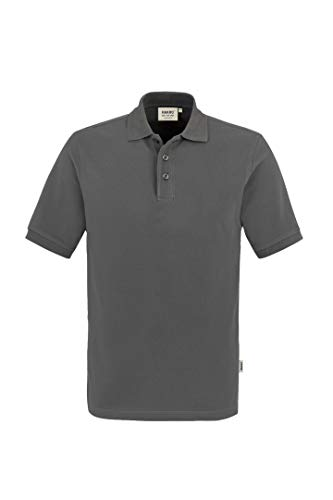 "HAKRO Polo-Shirt ""Classic"" - 810 - graphite - Größe: XL"
