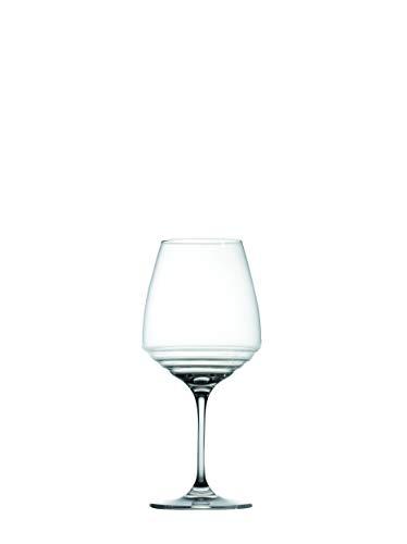 Zafferano Esperienze - Copa para Vinos Amarone-Pinot Negro-Gris de Vidrio Sonoro Superior, cl 60 h 220mm d 100mm, Juego de 6 Piezas
